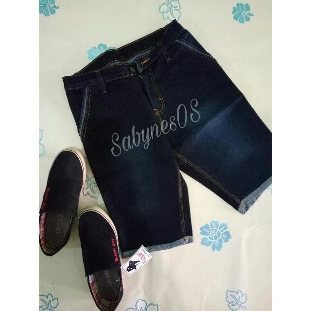 Celana Jeans Pendek Cowo