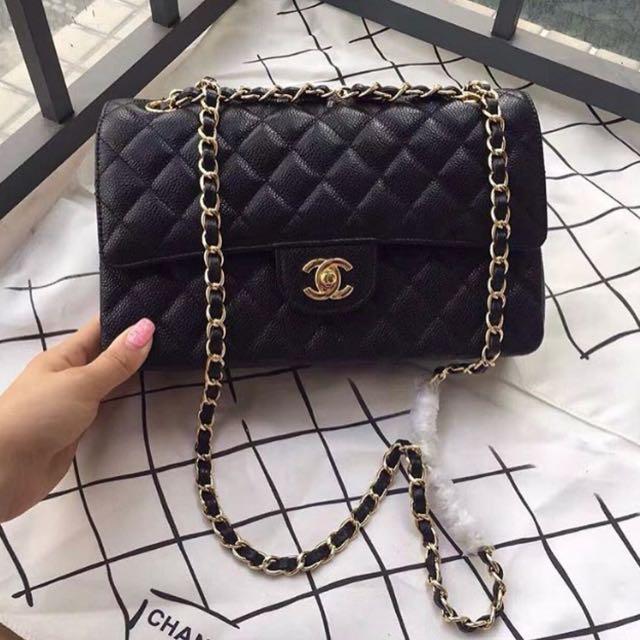Chanel Classic Caviar
