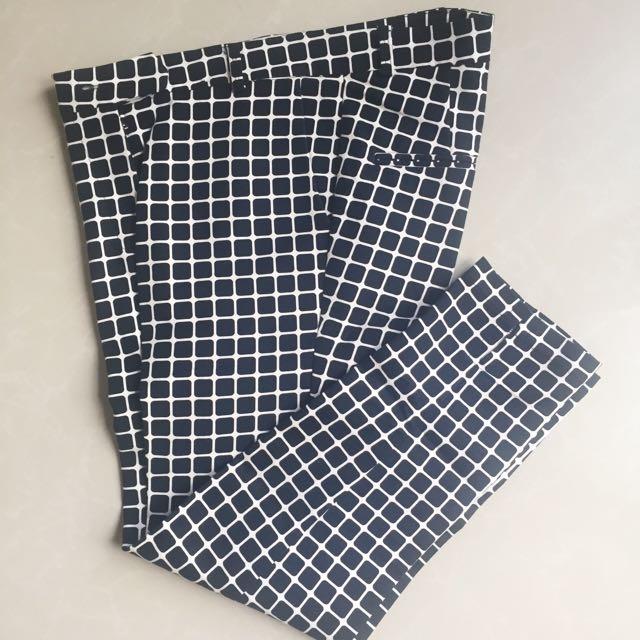 FLEUR Pattern Pants