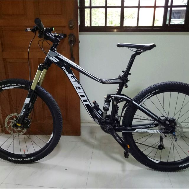 """2eb8c65d439 MTB Giant trance 4 2016 27.5""""(NEGO), Bicycles & PMDs, Bicycles on Carousell"""