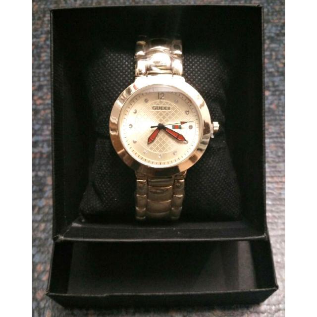 Gold Gucci Watch