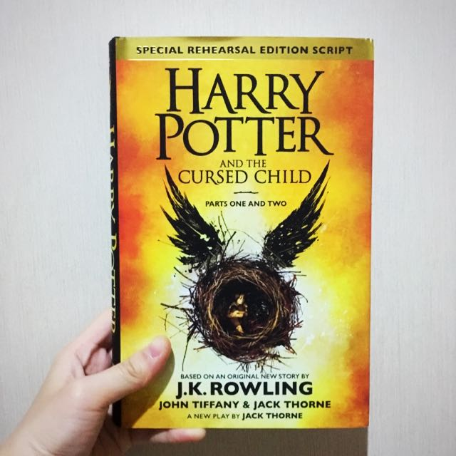 Harry Potter And The Cursed Child (Hard cover)