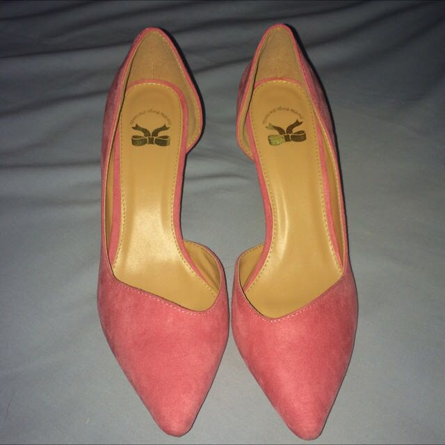 Heels Pink The Little Thing She Needs FREE ONGKIR JABODETABEK