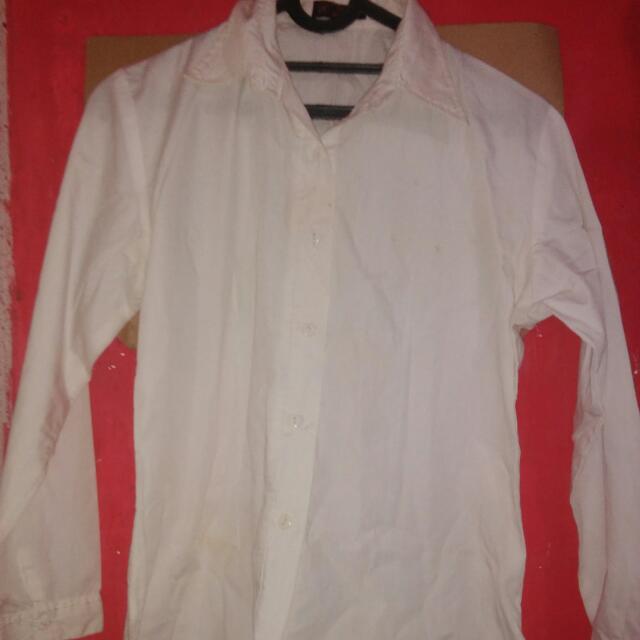 Kemeja Putih Polos Nayura
