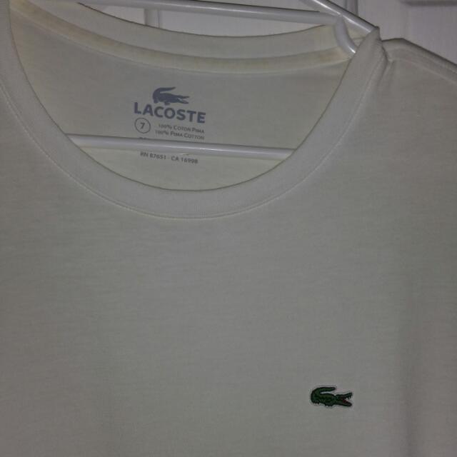 Lacoste Shirt SzXL