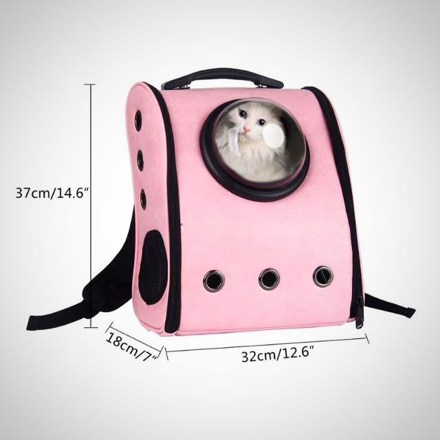 71fc6536a7 Leegoal Innovative Capsule Pet Carrier Soft Sided Breathable Travel ...