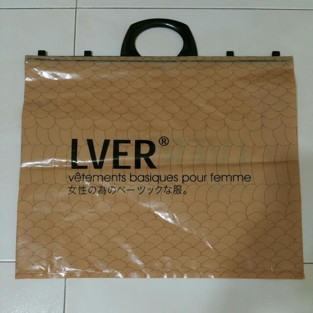 LVER Plastic Bag