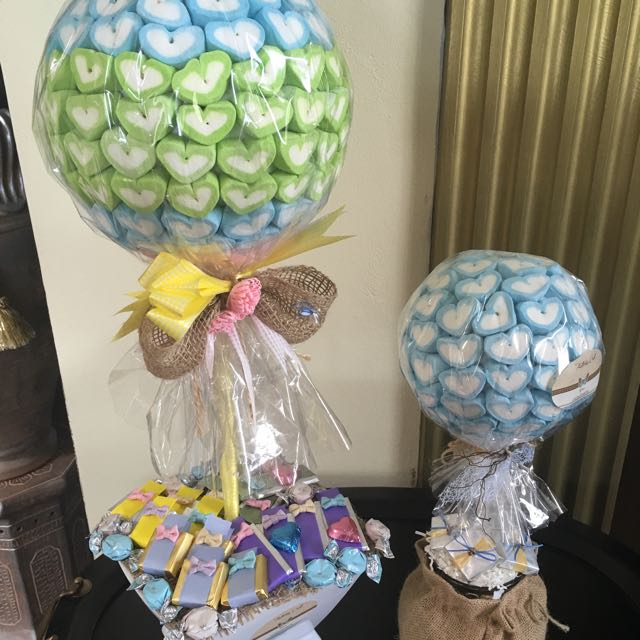 Marshmallow & Chocolate Gift Stands