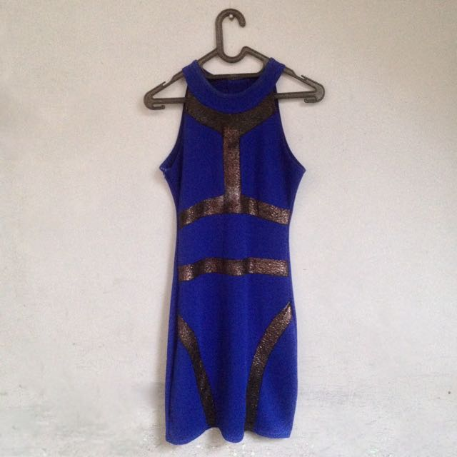 N61 Bodycon // Deep Blue