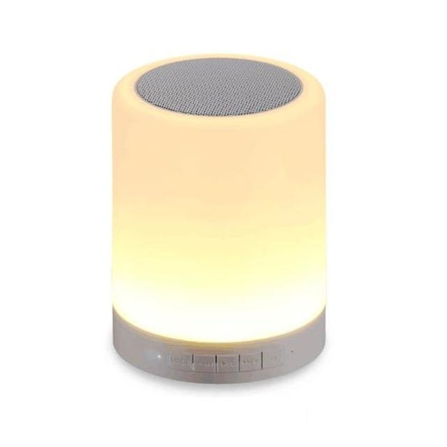 Newest Touch Smart Wireless Bluetooth Speaker Mood Lamp