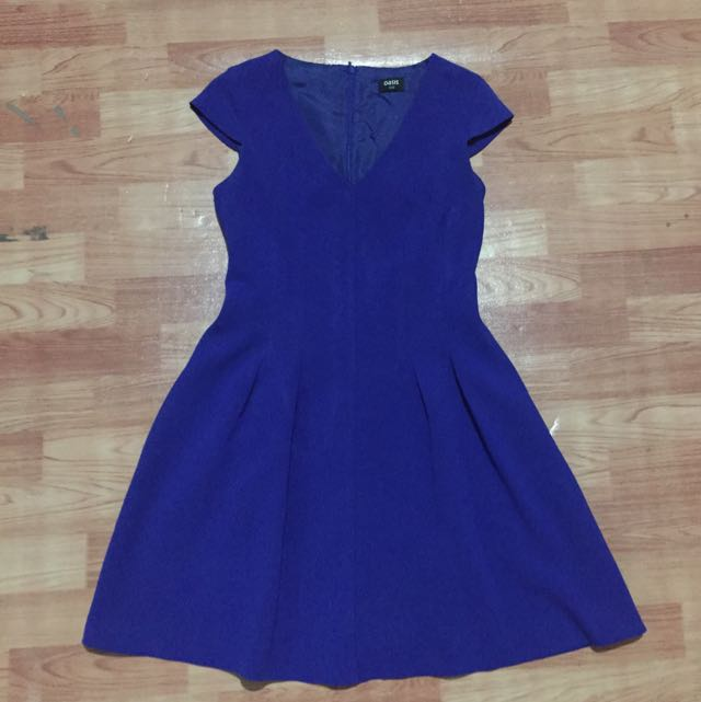 Oasis Electric Blue Dress