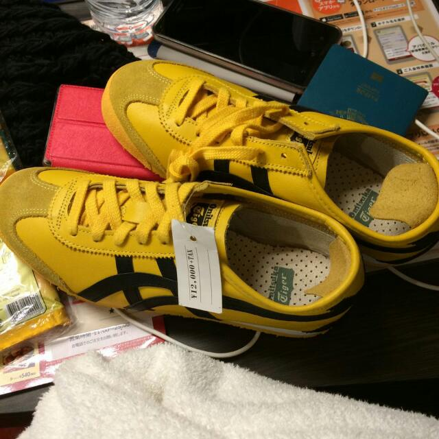 official photos 92a8c 40128 Onitsuka Tiger Kuning, Women's Fashion, Women's Shoes on ...