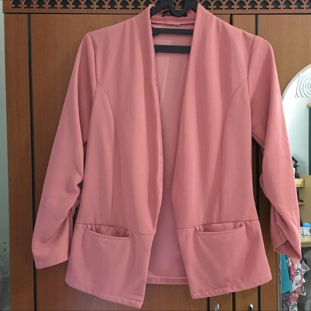 Pink Sophisticated Blazer