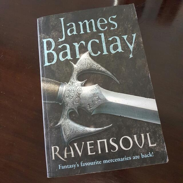 Ravesoul by James Barclay