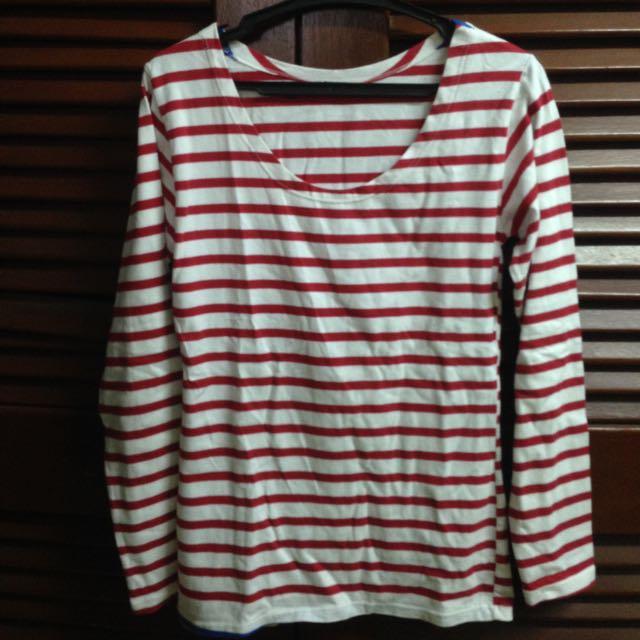 Red Stripes Longsleeves