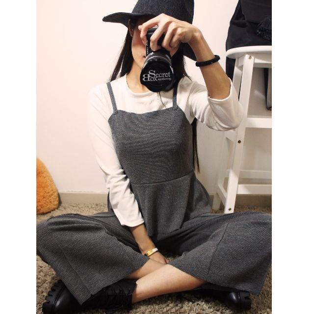 【SB】長T灰色套裝組