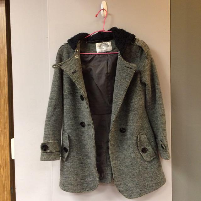 Scolar雙排釦大衣外套
