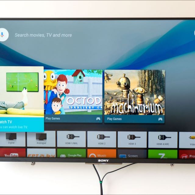 """SONY 43"""" KDL 43W800C ANDROID TV"""