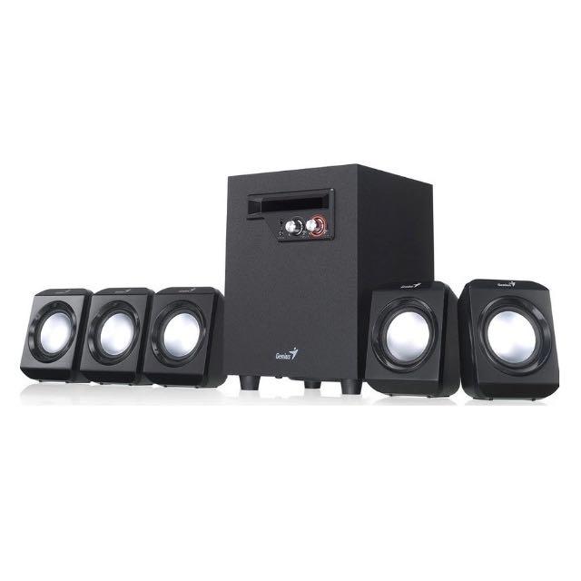 Superb Genius 5.1 High Quality Multimedia Speakers