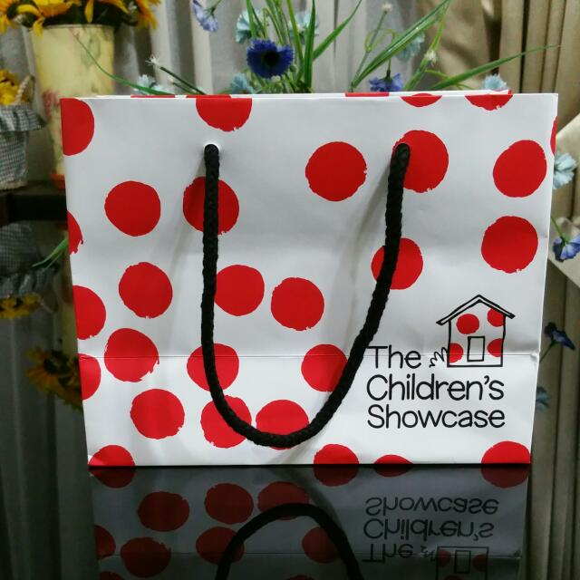 THE CHILDREN'S SHOWCASE Paper Bag