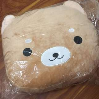 全新 拉拉熊 暖手枕/午睡枕