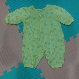 薄長袖嬰兒服