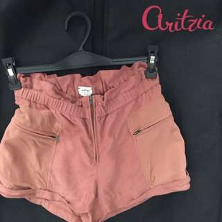 Aritzia Wilfred High Waisted Shorts - 0
