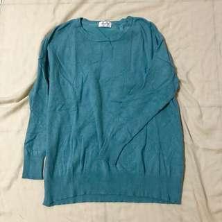 Tiffany 藍上衣毛衣