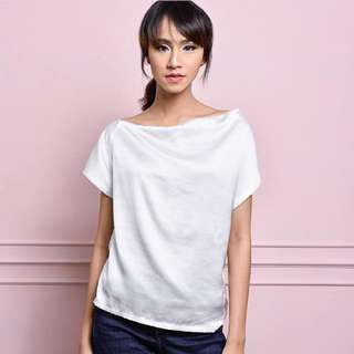 Isabel Top In White