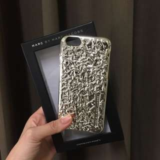 MARC BY JACOBS SILVER iPhone6 手機殼 銀色