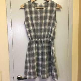 Cute Plaid Dress From Korea