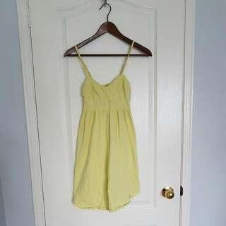 TNA xxs Yellow Dress