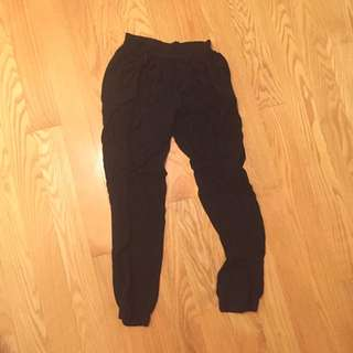 Black Loose Joggers/haram Pants