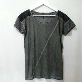 Grey Tee / Kaos / Atasan / Top / Tshirt