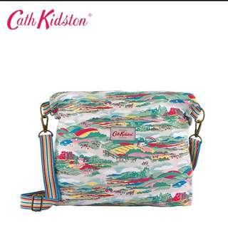 cath kidston reversible messenger bag