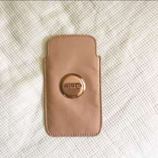 Rose Gold Mimco Phone Pouch