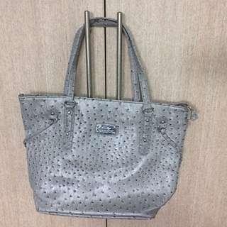 BN Grey Tote Bag