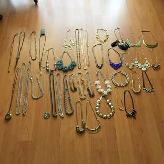 Entire Set Of Necklaces