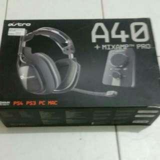 Astro A40 + Mix Amp
