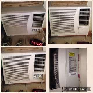Kolin Window Type Aircon 1 Horse Power Swap Or Sell