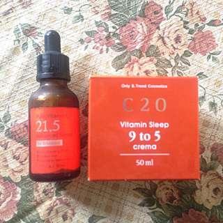 Serum Ost 21,5 Dan Night Cream 20