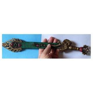 藏傳法器--文殊菩薩智慧劍