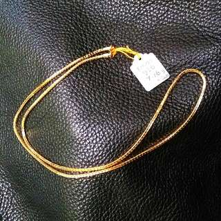 Necklace 916/22K Gold
