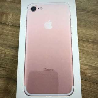 iPhone 7 128gb Rose Gold (brand new)