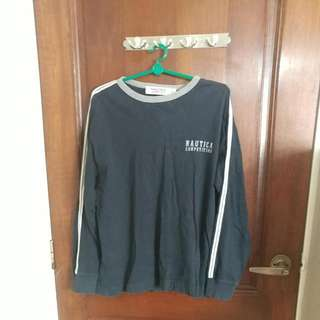 Nautica Competition Long Sleeves Tee (Size S)