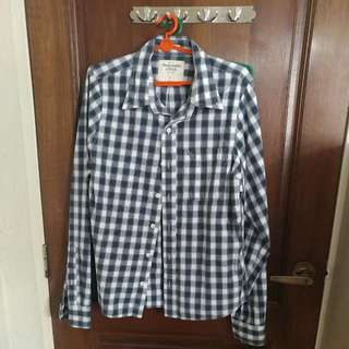 Abercrombie & Fitch Long Sleeve Shirt (size L)