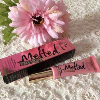 AUTHENTIC TOO FACED MELTED METAL LIQUIFIED METALLIC LIPSTICK