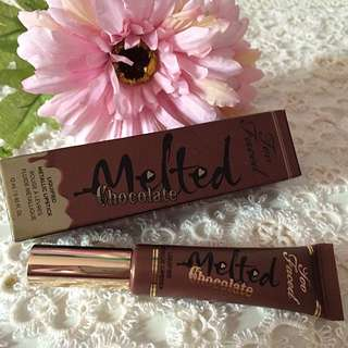 AUTHENTIC TOO FACED MELTED CHOCOLATE LIQUIFIED METALLIC LIPSTICK