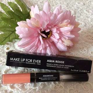 AUTHENTIC MAKE UP FOR EVER Aqua Rouge Waterproof Liquid Lip Color