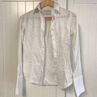 Rhodes And Beckett Size 4 (AU 6 Or Small 8) White Shirt